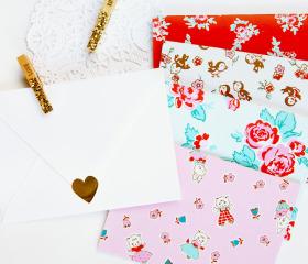 Milk, Sugar & Flower Card Set – Cheery Cobbler