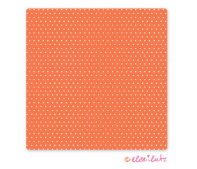 Printable Sweet Dots Digital Craft Paper Clementine