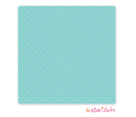 Printable Sweet Dots Digital Craft Paper Aqua