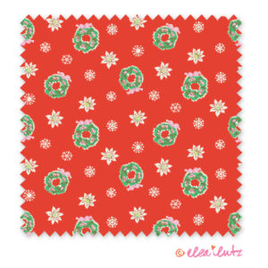 wreath-red