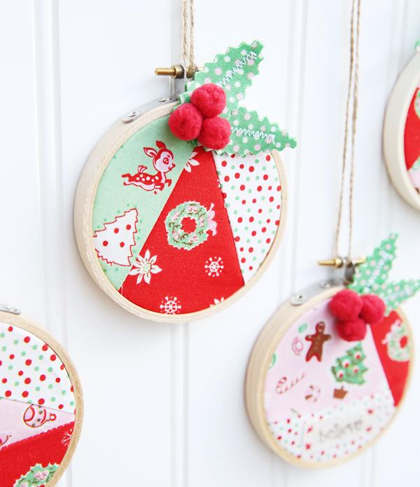 Little joys - Hoop Ornaments