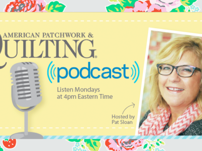 American Patchwork & Quilting Radio – Join me