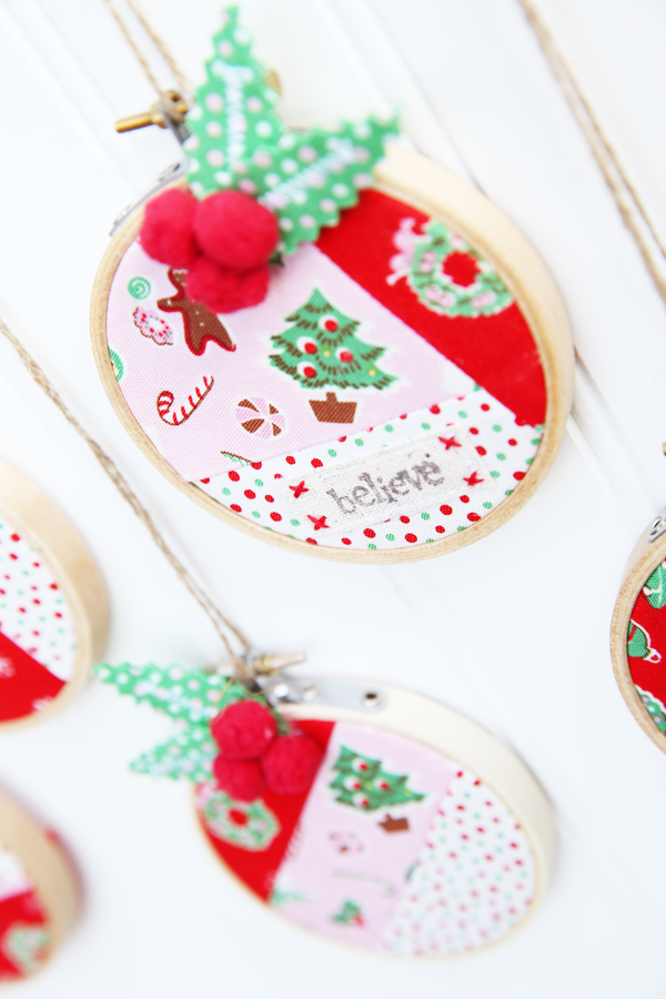 little joys ornament tutorial