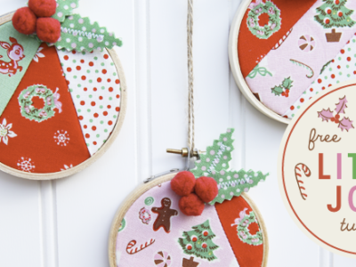 Little Joys Scrap Holiday Ornament Tutorial