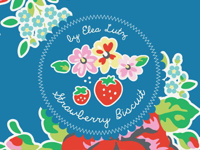 Strawberry Biscuit – Fall Quilt Market