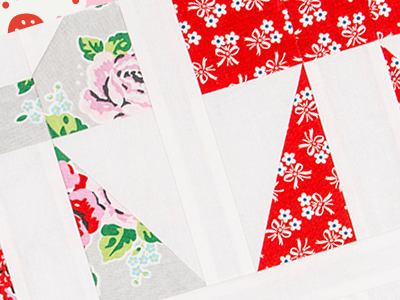 Pretty Playtime Quilts – Bow Block