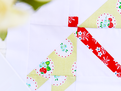 Pretty Playtime Quilts – Dragonfly Block
