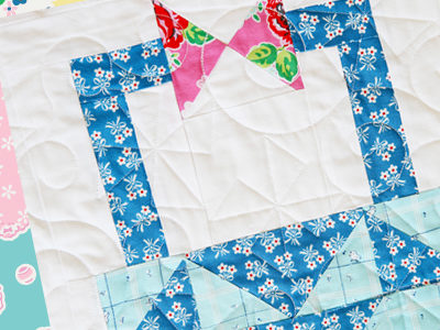 Pretty Playtime Quilts – Basket Block