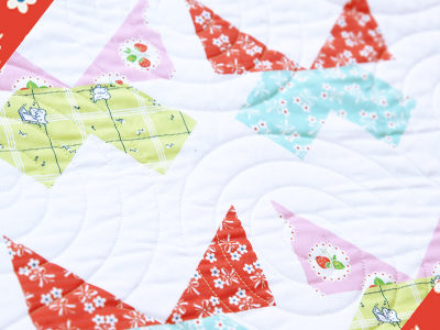 Pretty Playtime Quilts – Butterfly Block