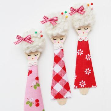 spoon dolls by elea lutz