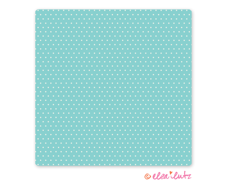picture relating to Printable Kraft Paper named Printable Cute Dots Electronic Craft Paper Aqua