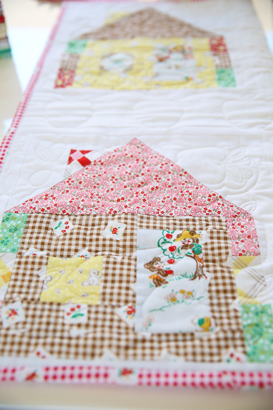 Apple Farm fabric by Elea Lutz for Penny Rose and Pretty Playtime Quilts